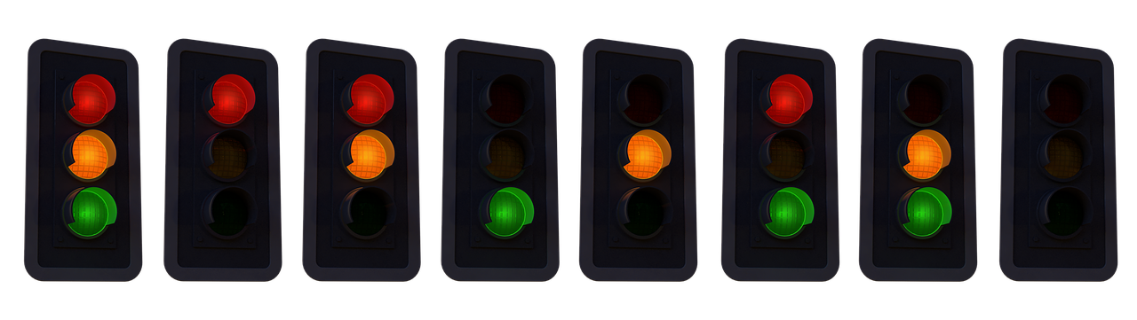 Traffic stoplights for conversion and the sales process