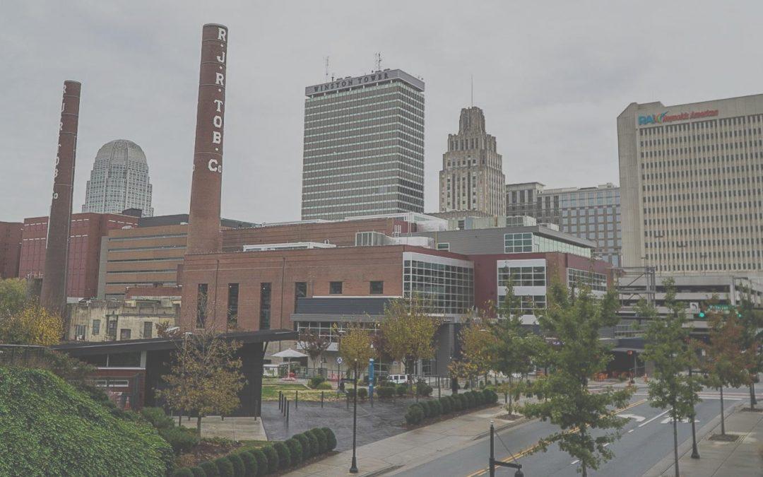 Winston Salem cityscape bg